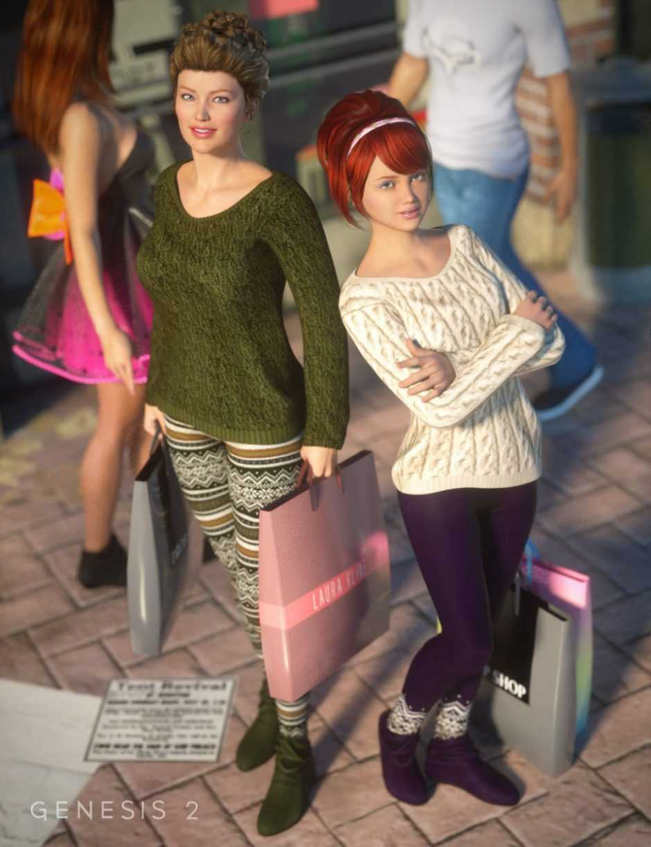 Cozy Fashion for Day at the Mall Outfit