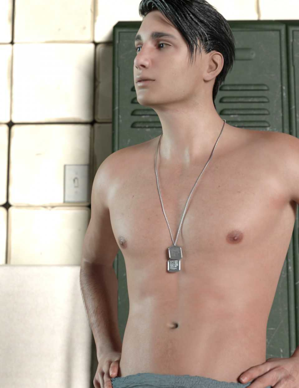 Cain for Genesis 3 and 8 Male