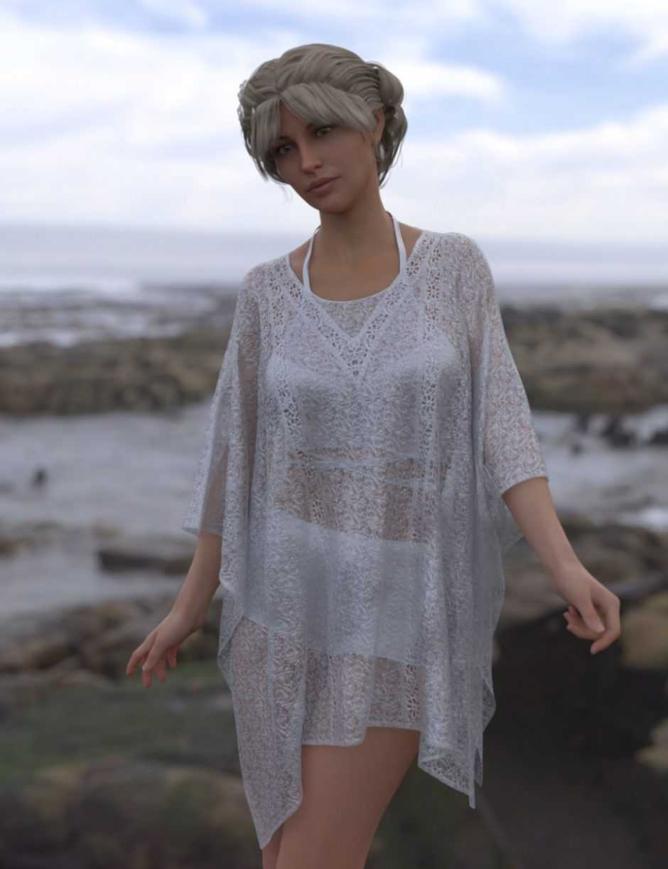 dForce Beauty and the Beach for Genesis 8 Female
