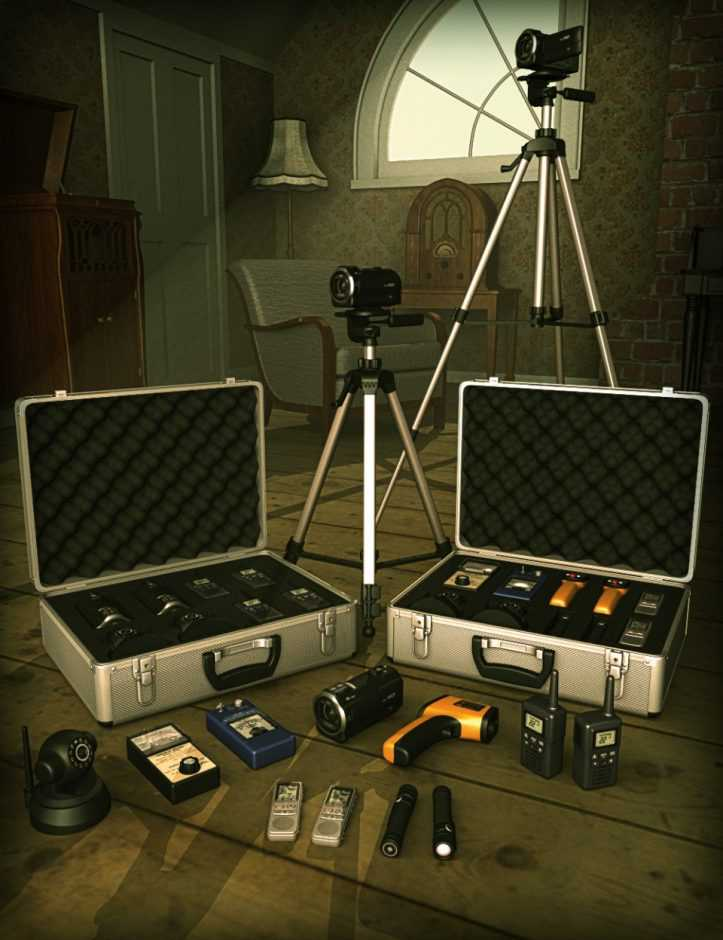 Ghost Hunter Equipment