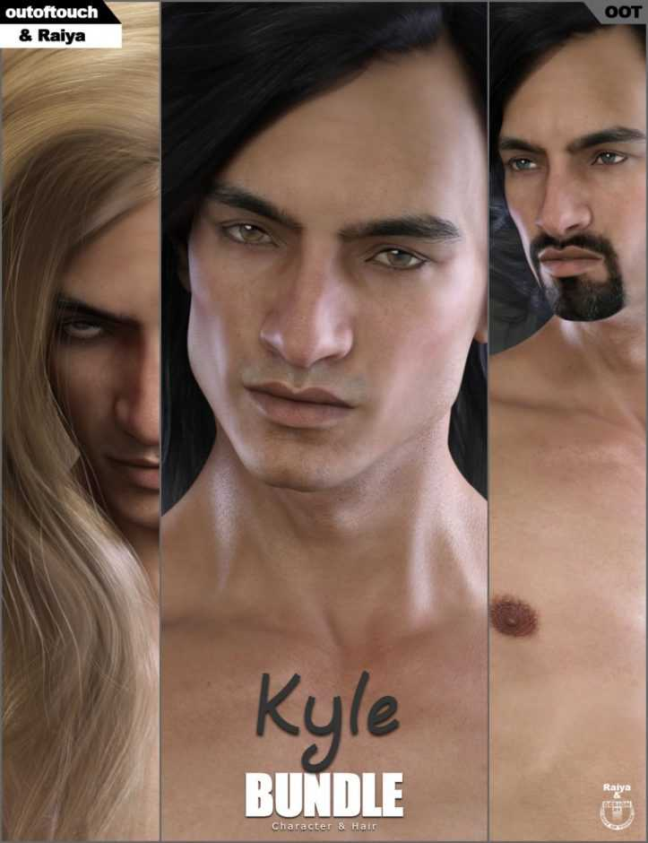 Kyle Character and Hair Bundle