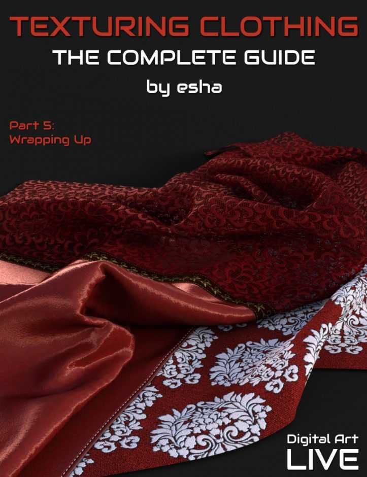 The Complete Guide to Texturing Clothing – Part 5