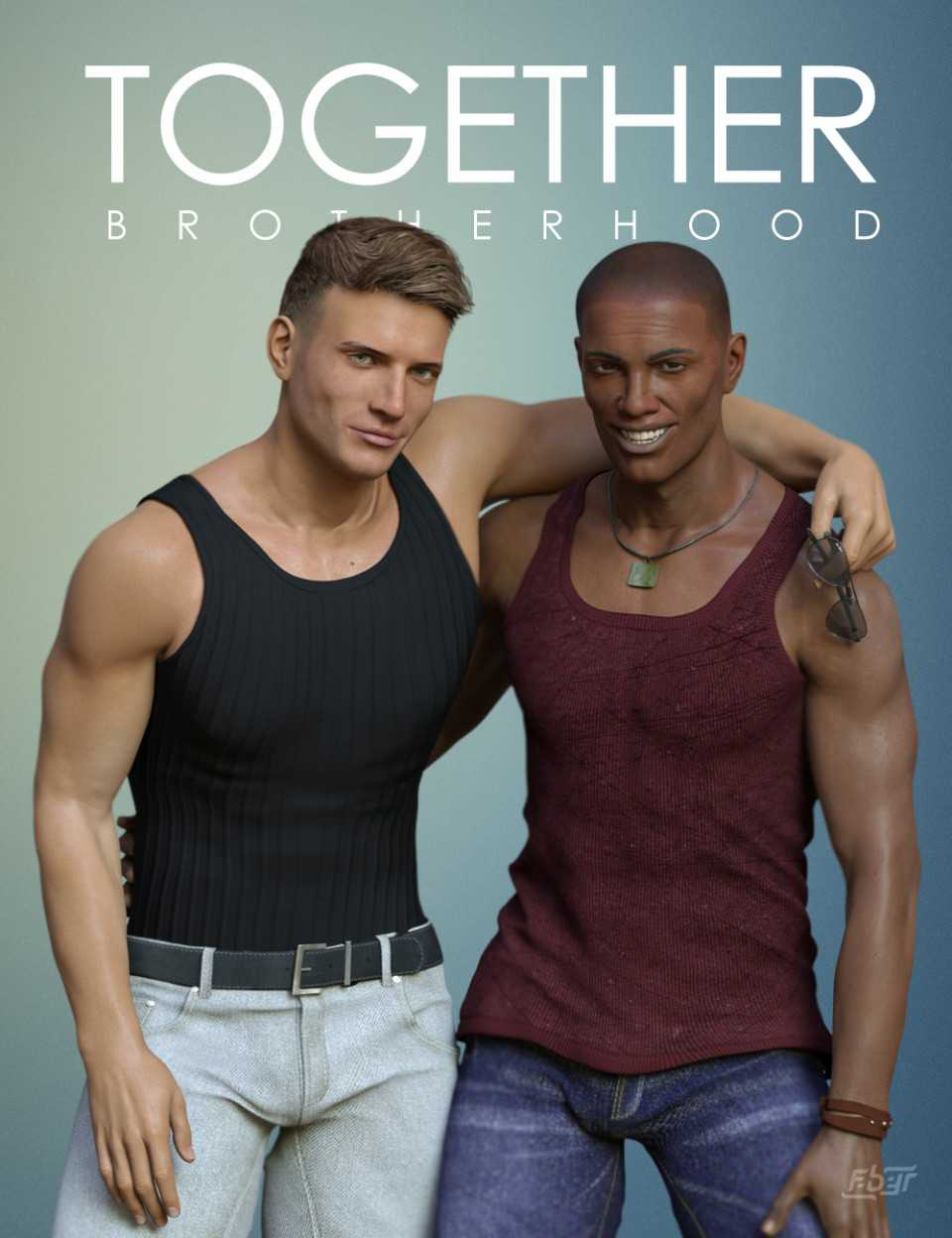 Together: Brotherhood Poses for Genesis 8 Male(s)