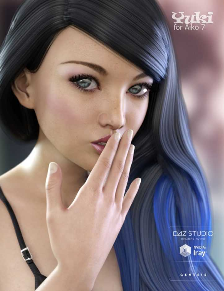 Yuki Bundle – Character, Clothing and Outfit for Genesis 3 Female(s)