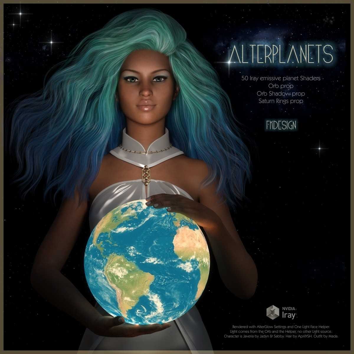 Alter Planets Iray