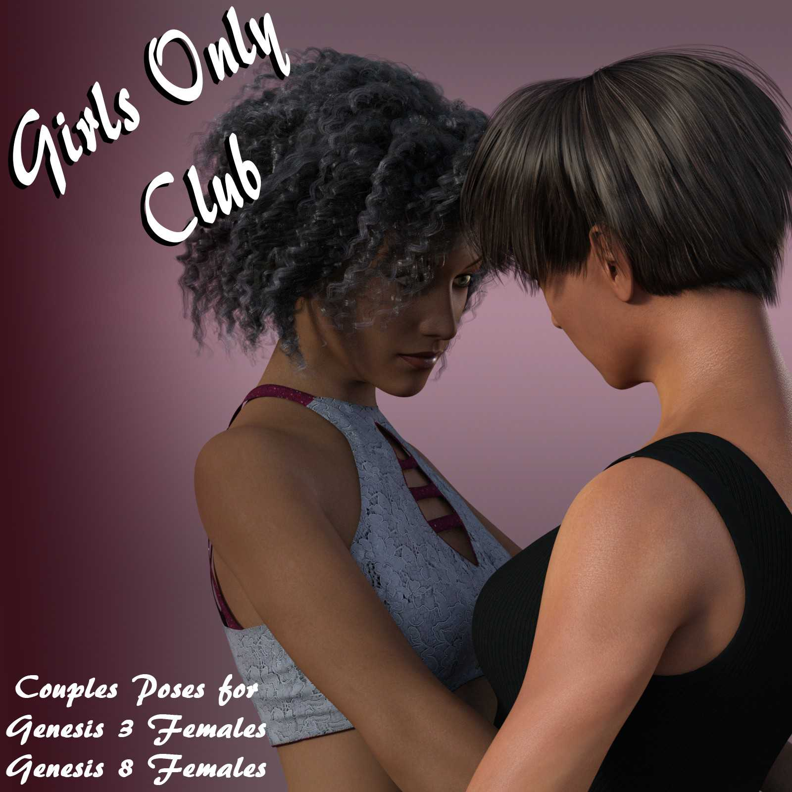 Girls Only Club: Couples Poses for G3F and G8F