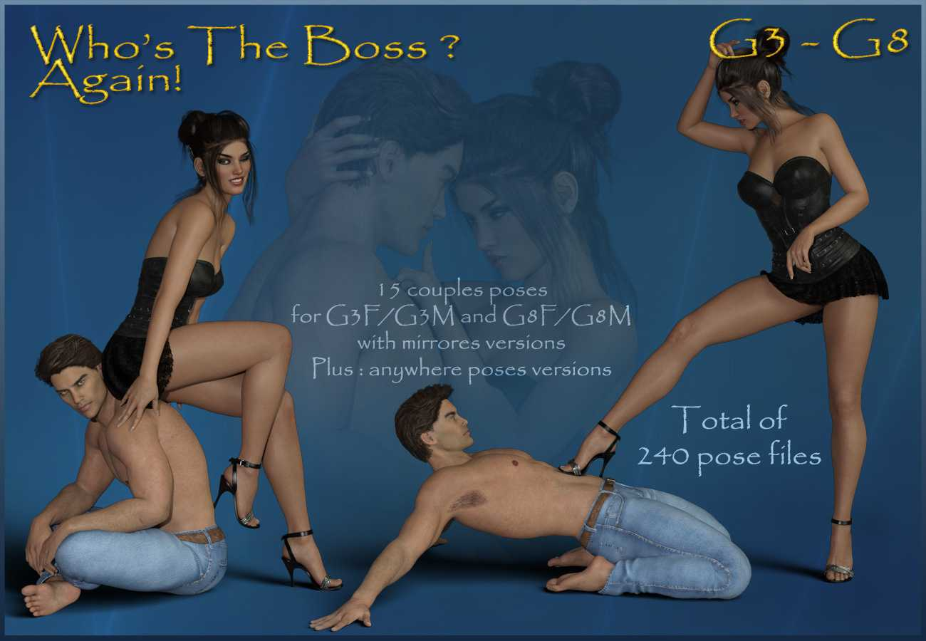 Who's The Boss Again – G3F-G3M – G8F-G8M