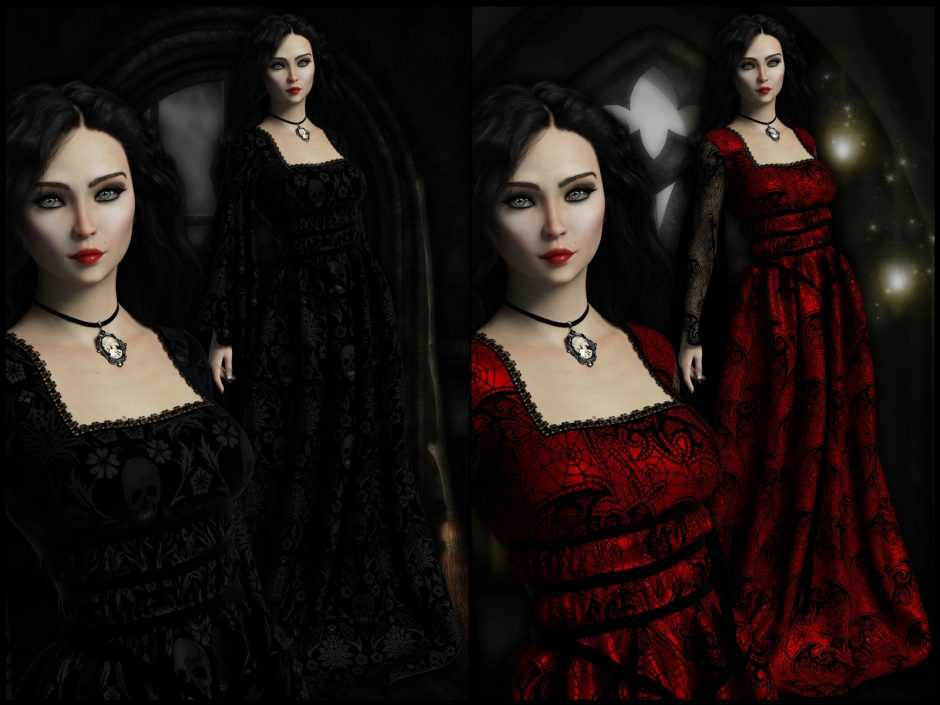 Epic: dForce - Lily Dress for G8F