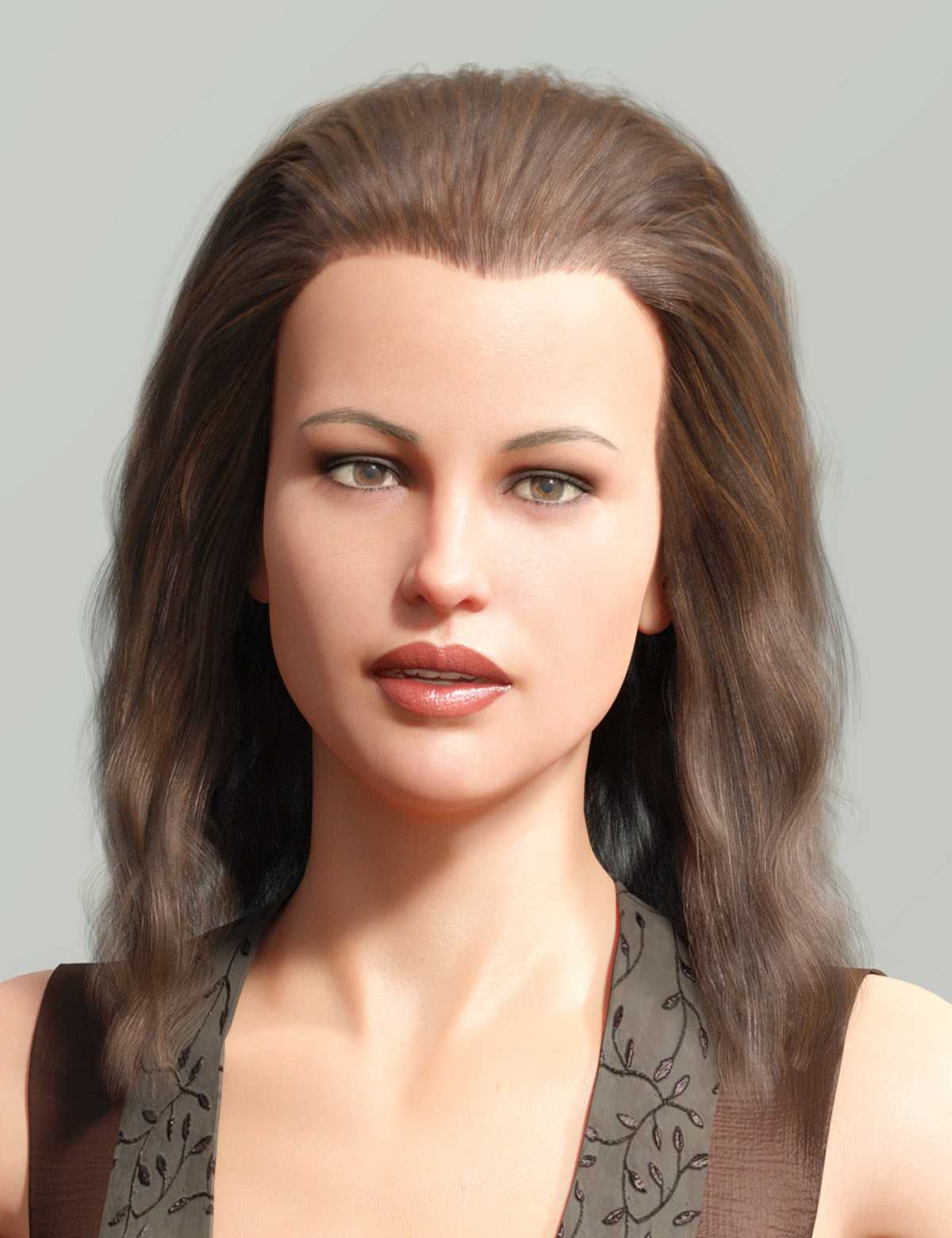 Backcombed Hair for Genesis 3 and 8 Males and Females