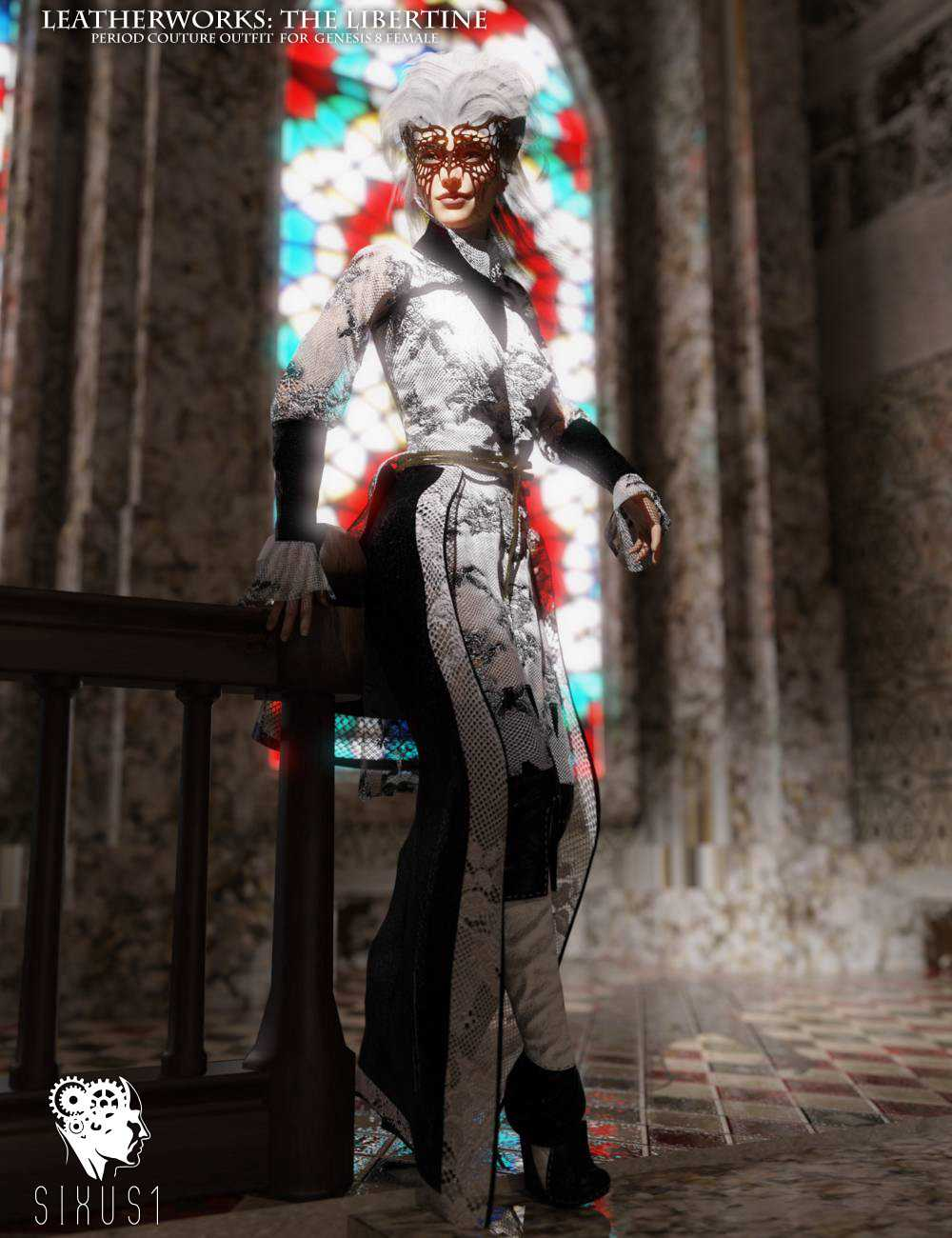 The Libertine Outfit for Genesis 8 Female