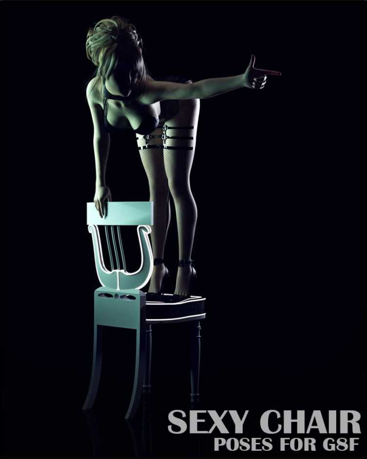 Sexy Chair Poses for G8F