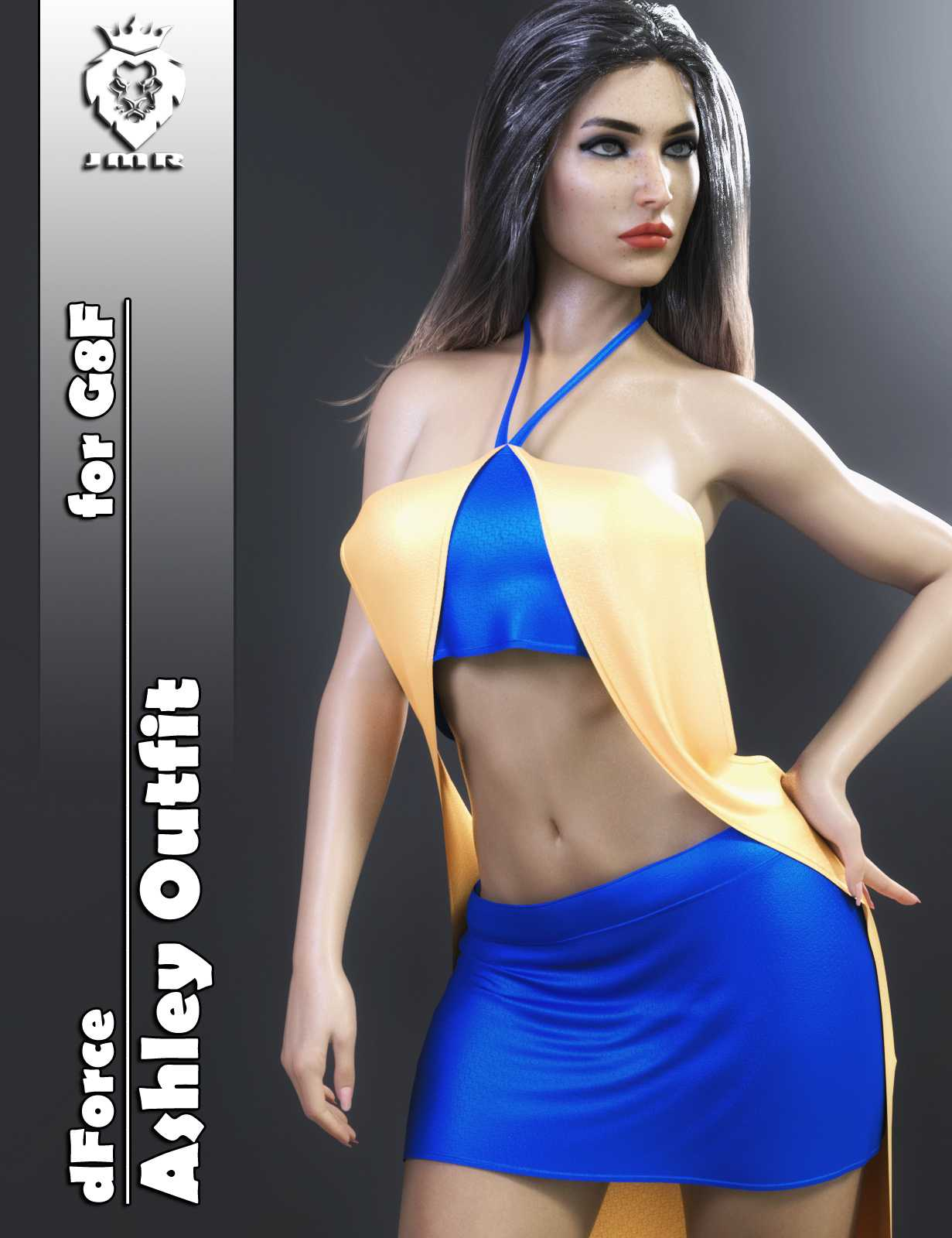 JMR dForce Ashley Outfit for G8F