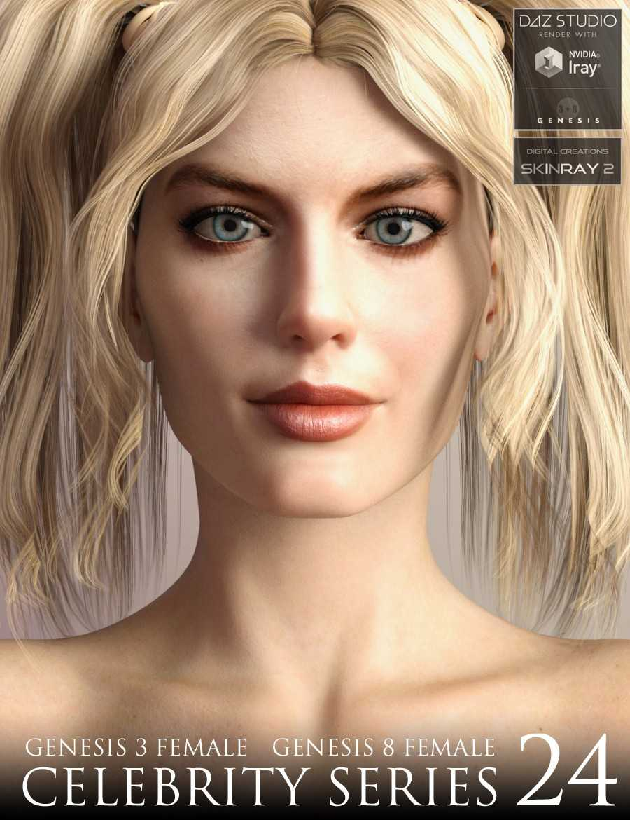 Celebrity Series 24 for Genesis 3 and Genesis 8 Female