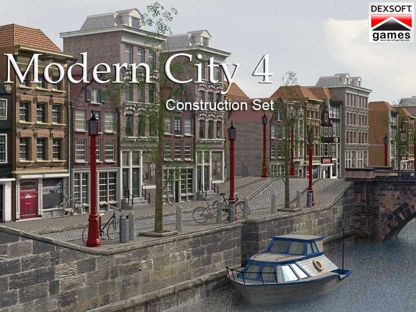 iClone Pack: Modern City 4