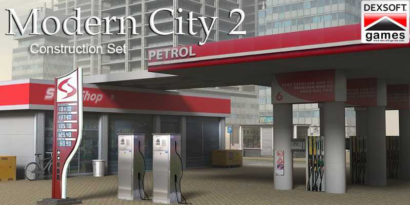 iClone Pack: Modern City 2