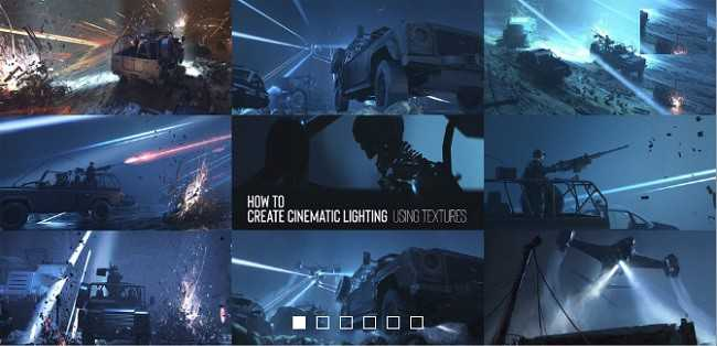 How to Create Cinematic Lighting Using Textures