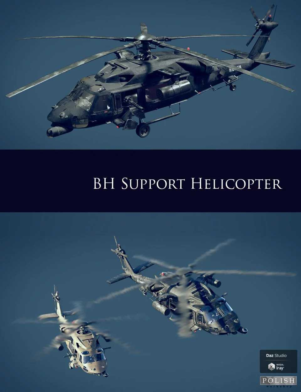 BH Support Helicopter