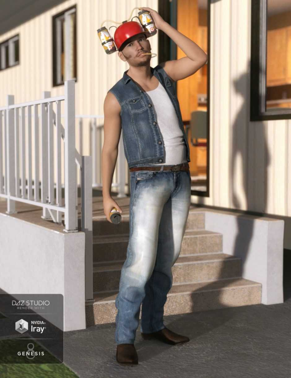 Billy Bob Outfit for Genesis 8 Male(s)