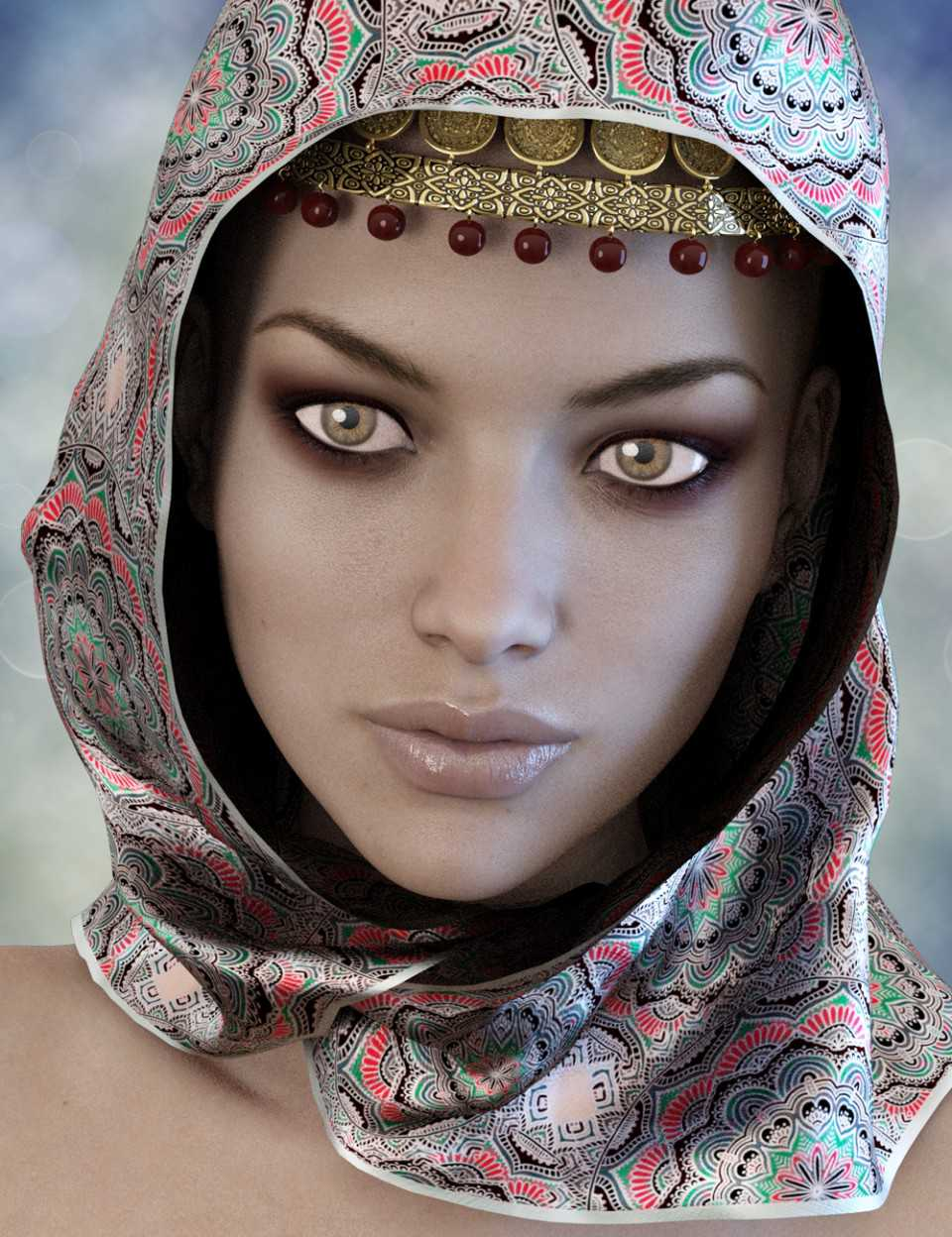 X-Fashion Bohemian Head Scarf