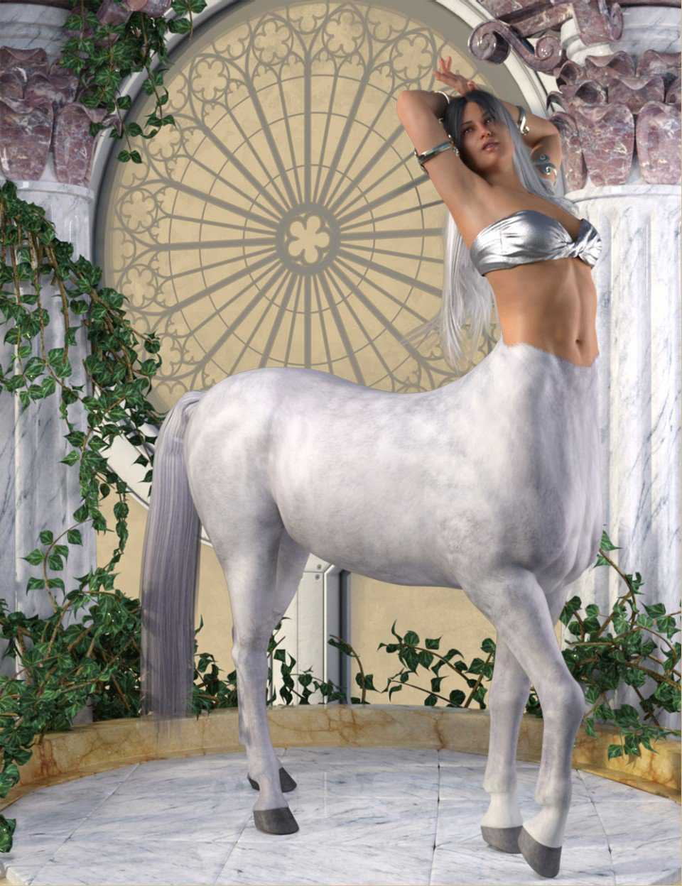 Centaur Action Poses for Genesis 8 Female Centaur