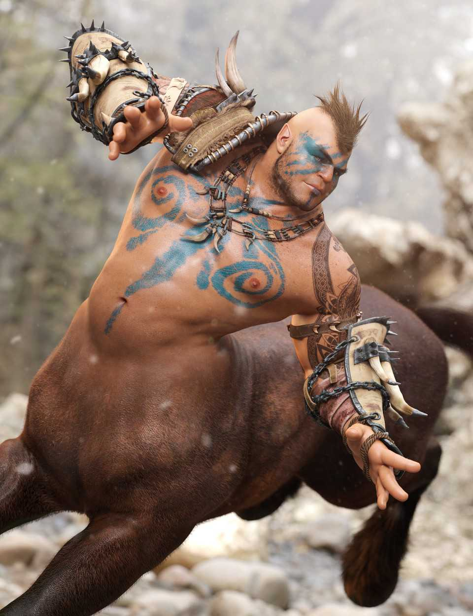 Centaur Maxx for Genesis 8 Male Centaur