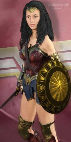 Wonderwoman for G3F and Poser