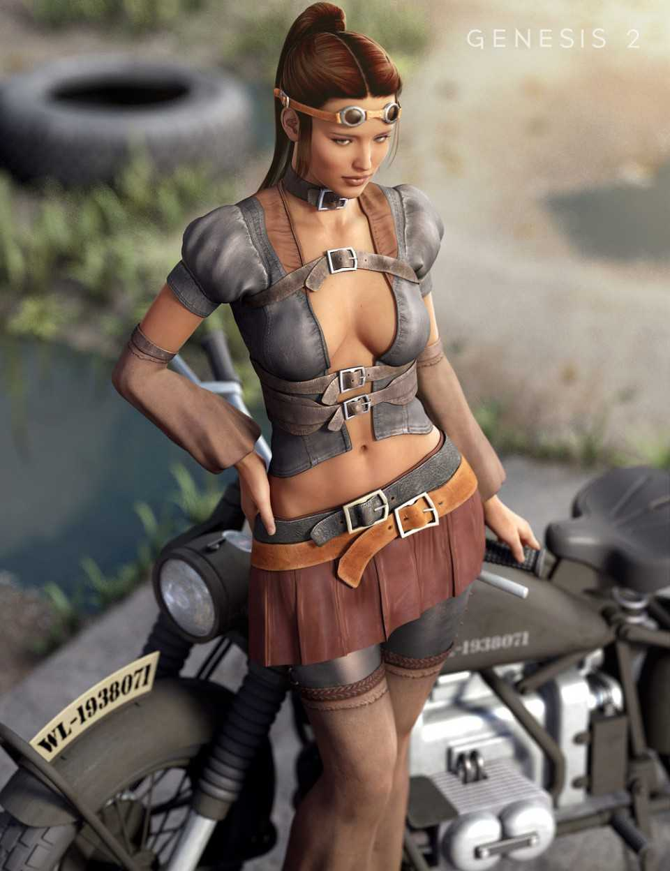 Nomad Wanderer for Genesis 2 Female(s)