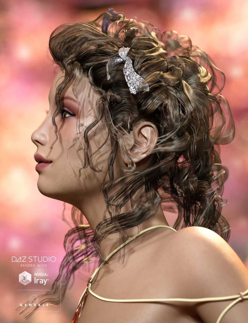 Crazy Hair for Genesis 3 Female(s)