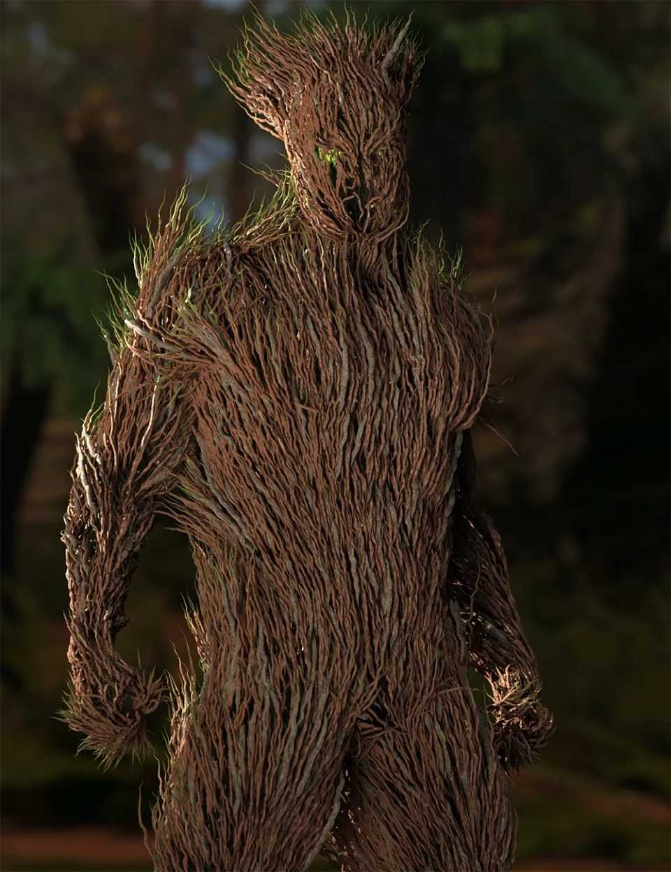 dForce Thicket for Genesis 8 Male