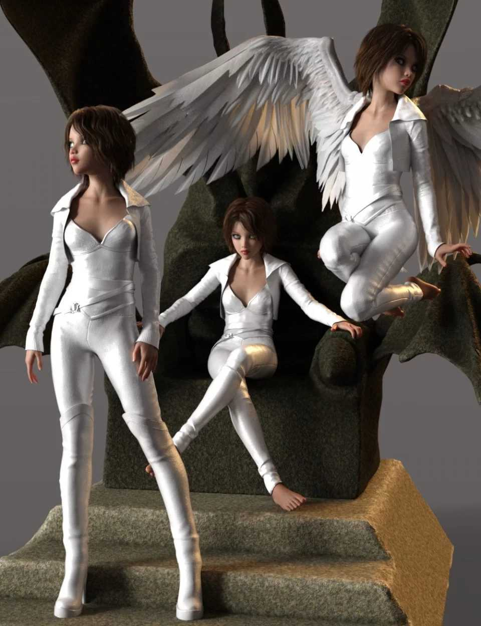Fallen Angel Poses for Rynne 8