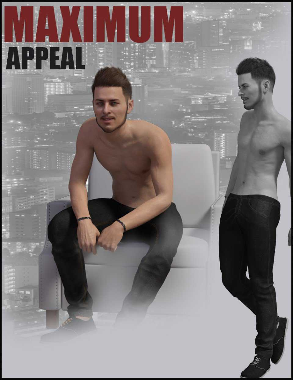 i3D Max Appeal For Genesis 8 Male