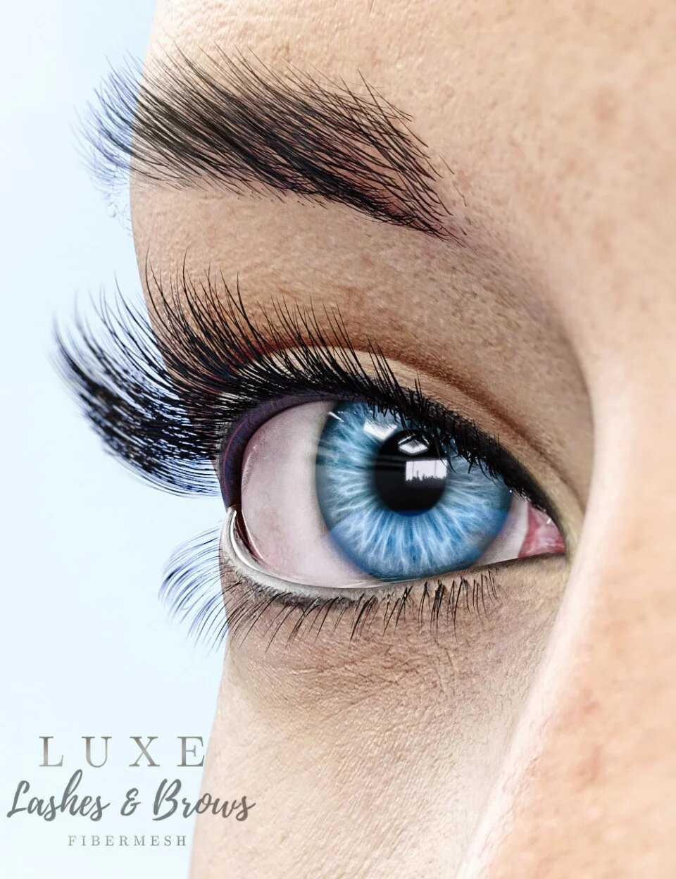 LUXE – Fibermesh Lashes and Brows
