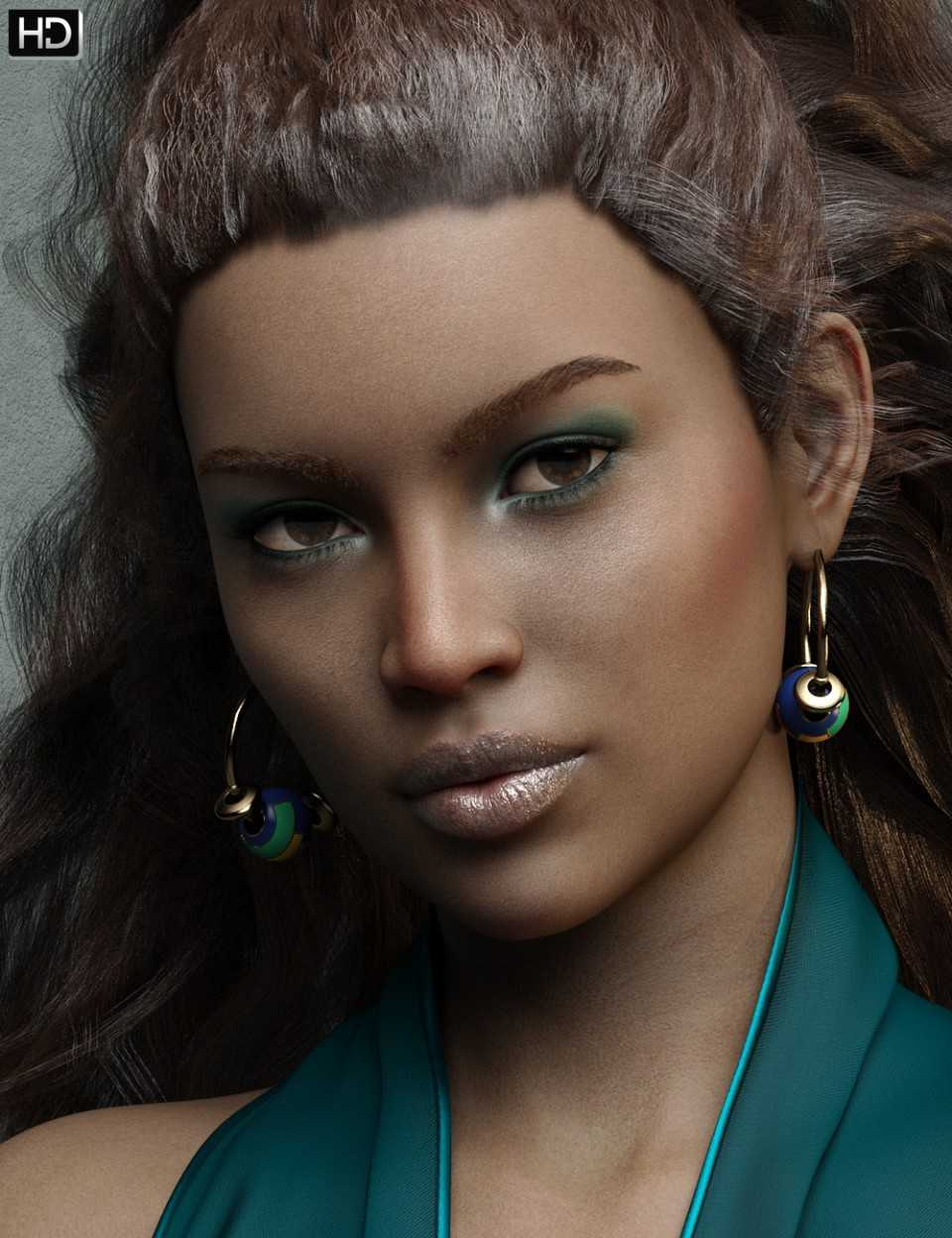 Makayla HD for Genesis 8 Female