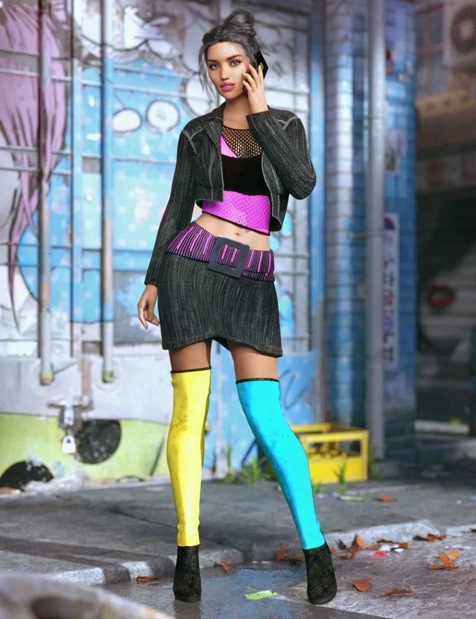 Millennia Outfit for Genesis 8 Female(s)