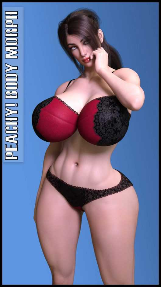 Peachy! Body Morph for Genesis 3 & Genesis 8