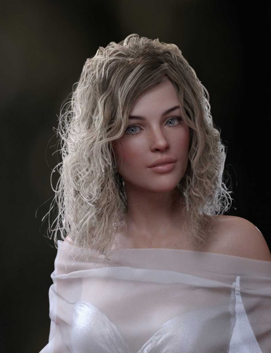 Perfect Wild Curls for Genesis 8 Female(s)