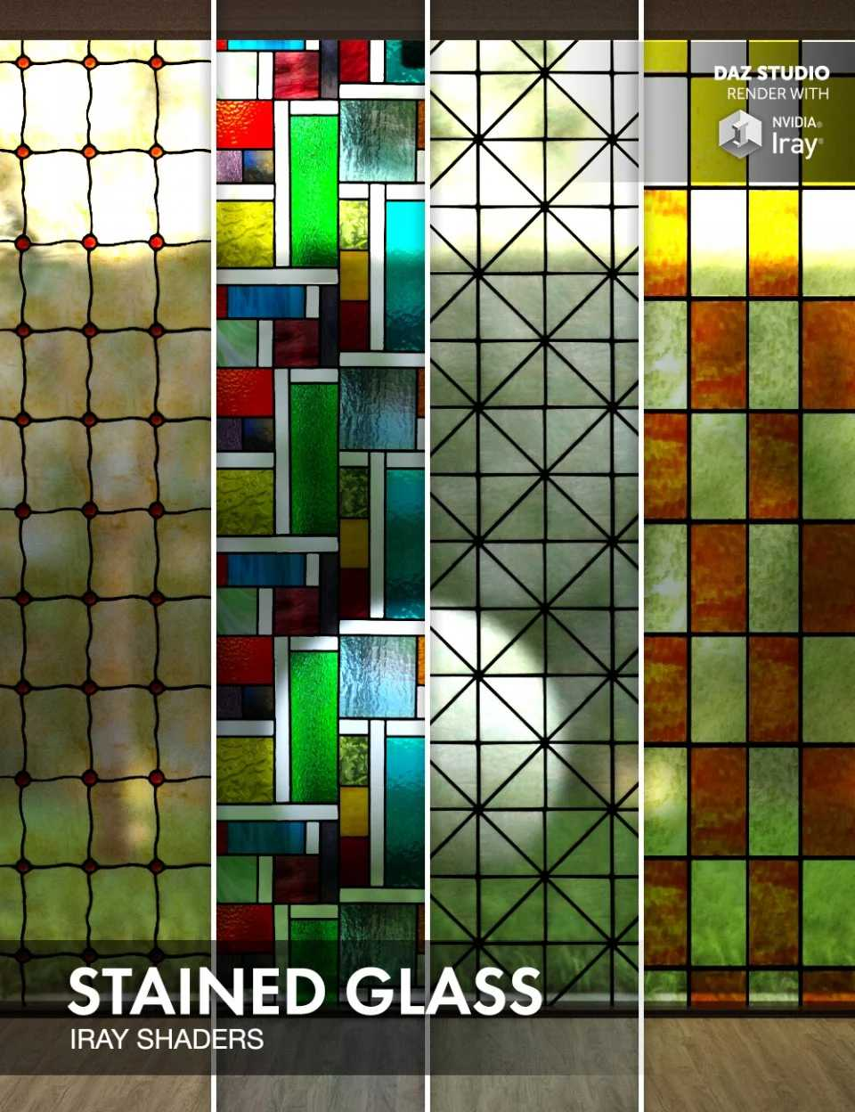 Stained Glass – Iray Shaders