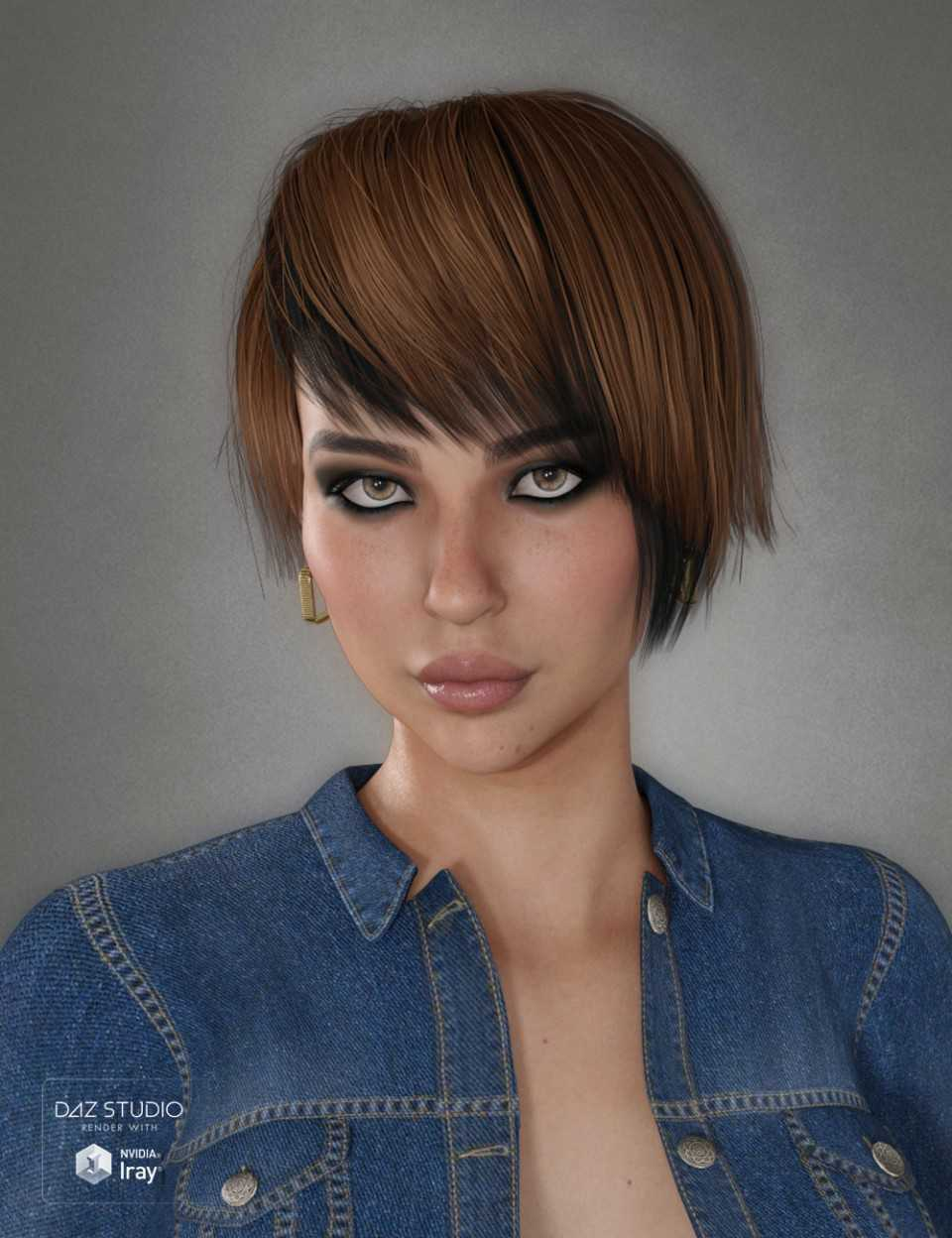 Duffy Hair for Genesis 3 and 8 Female(s)