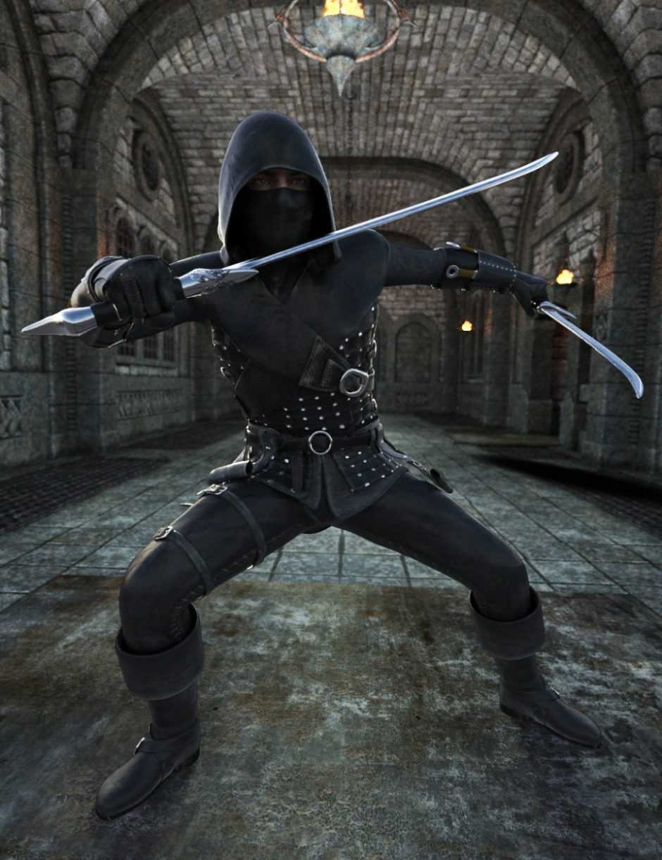Sword Lord for Genesis 8 Male(s)