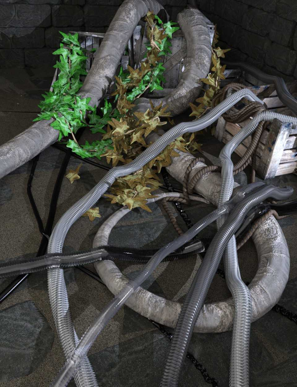 SY dForce Ropes, Vines and Tubes