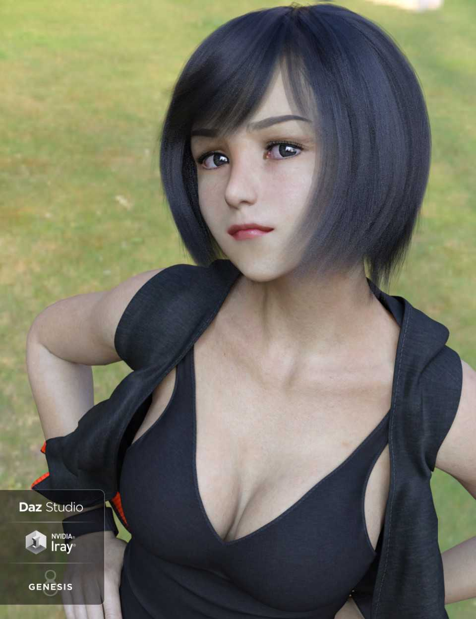 Vivy Character and Hair Pack for Genesis 8 Female