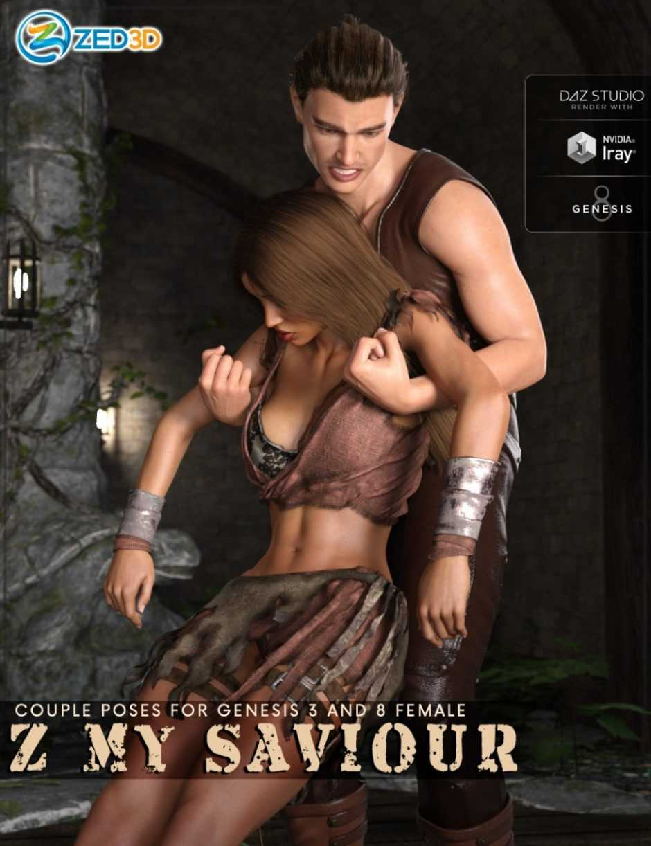 Z My Saviour – Poses for Genesis 3 and 8